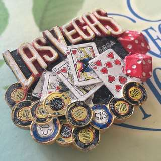 Las Vegas, USA Fridge Magnet