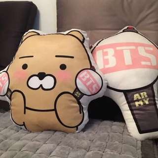 BTS 50 - 60cm Big Ryan / Army Bomb Pillow
