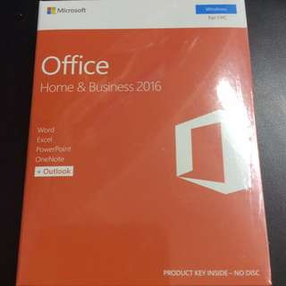 Office 2016 Home and Business for Windows/Mac