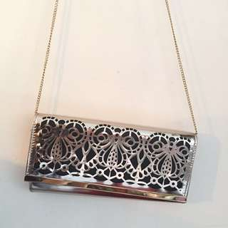 New Look Gold Clutch