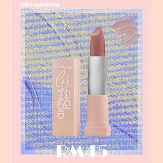 Maybelline x Gigi Matte Lipstick