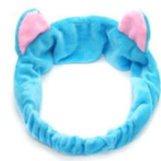 Sky Blue Cat Ear Headband