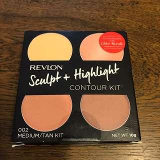 Brand new revlon sculpt and highlight contour kit