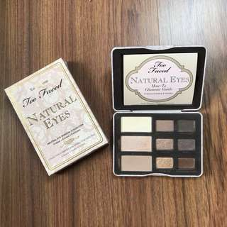 [REPRICE] Too Faced Natural Eyes
