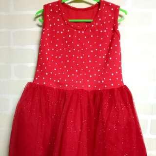 Red Dress Tutu