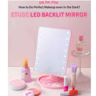 Etude House LED Backlit mirror(free batteries)