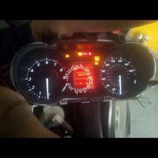 Evo 10 MR US Spec speedometer