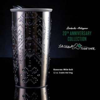 Starbucks 20th Anniversay Limited Edition Merchandise