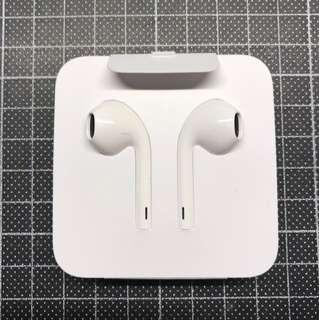 全新iPhone 7 8 X 原裝耳機 正版