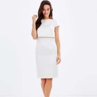 Dorothy Perkins Textured Overlay Dress