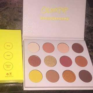 Colourpop palette stocks