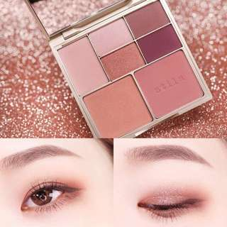 ✨預訂✨ STILA Perfect Me, Perfect Hue Eye & Cheek Palette #Medium / Tan