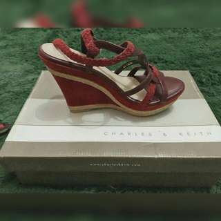 Maroon Shoes C&K