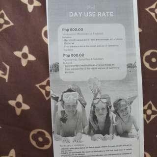 Pacific Cebu Resort Day Use Voucher