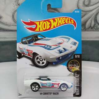 Hot Wheels '69 Corvette Racer