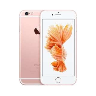 Rose gold iPhone 6s 64gb