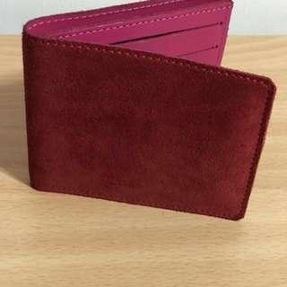 TURNBULL&ASSER 短夾 紅色 財布