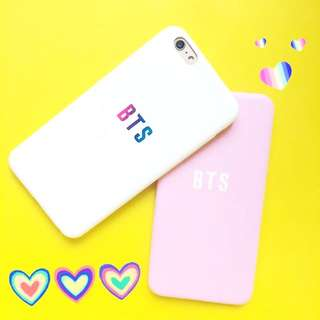 BTS 'BTS' Soft Case - iPhone / Oppo / Vivo