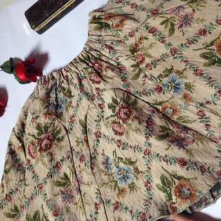 Rok Flare Floral