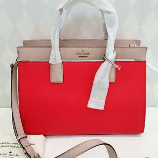 Kate Spade Candace Satchel Large Prickly Pear