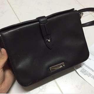 Tuscan's crossbody bag black color