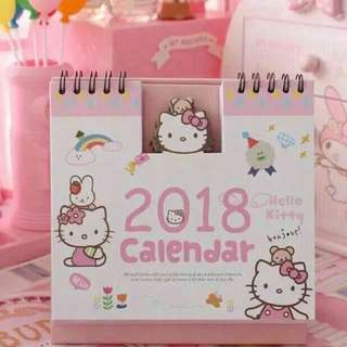 Hello Kitty 2018 Calendar
