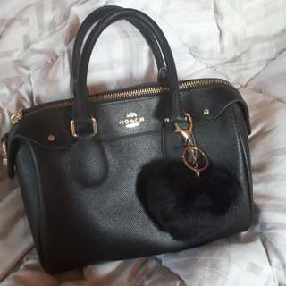 Coach Bennett Satchel Black
