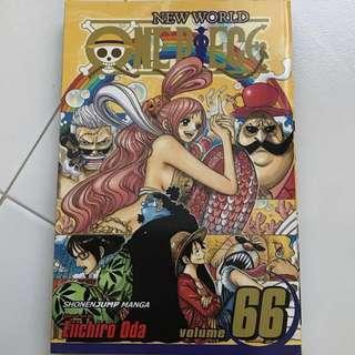 ENGLISH One Piece Vol 66 manga
