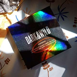 Unsealed BTS 방탄소년단 DARK&WILD 1st Full Album