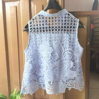 Zalora crochet top