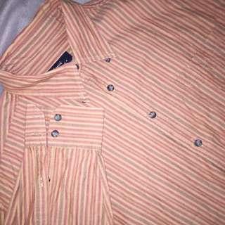 🚚 Vintage - Striped Shirt 復古條紋襯衫