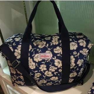 Cath Kidston Mono Poppies Foldaway Bag