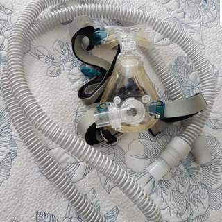 ResMed Full Face Mask & Connection Tubing