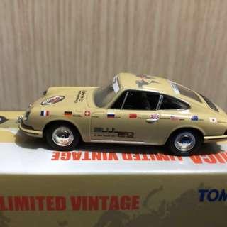 Tomica tomytec limited vintage LV-110 911 1967年 全新 50週年紀念品 國旗