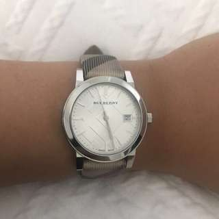 Silver Burberry Watch