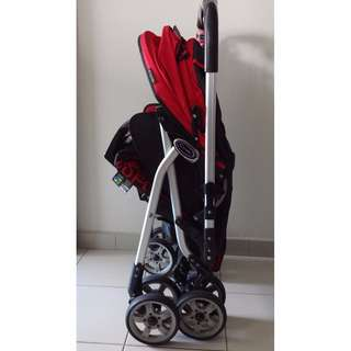 Capella Adonis Stroller + PUKU Tricycle With Canopy