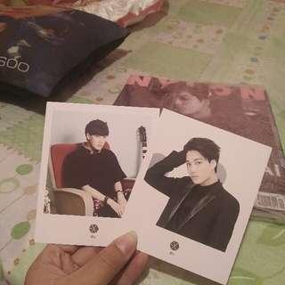 Official Exo Coex Artium Polaroid (Kai) Ver. A And Ver. B