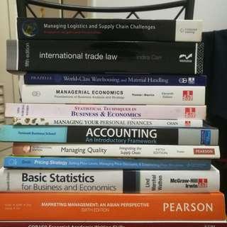 Used textbooks, SUSS