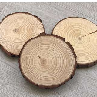Pine Wood Slices For  Wedding Decor