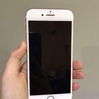 二手 IPhone7 玫瑰金色 32gb