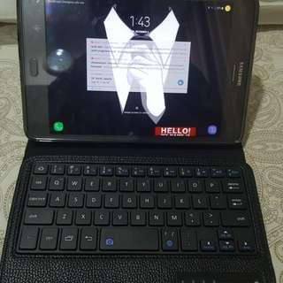 wireless keyboard galaxy Tab A with S PEN layar 8 inch, bisa universal