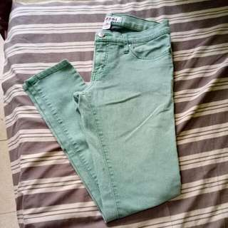 Next Green Denim Pants
