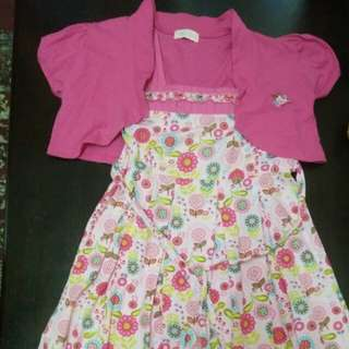 Kiko girl dress