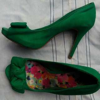REPRICED! Green Stillettos