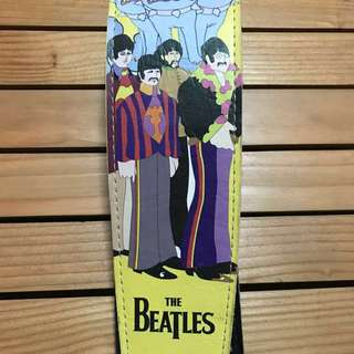 [THE BEATLES] Yellow Submarine Guitar Strap