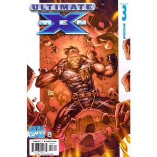 Ultimate X-Men #3 Issue: The Tomorrow People Warzone