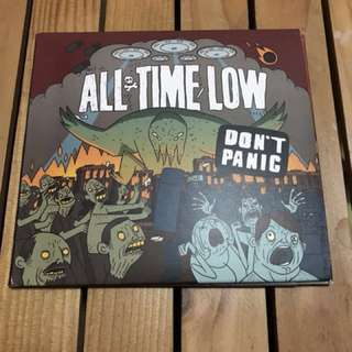 [Pre-Loved] All Time Low- Don't Panic