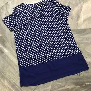 Lady Plus Size Long Blouse (4XL)