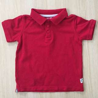 Cotton On Red Polo Tshirt