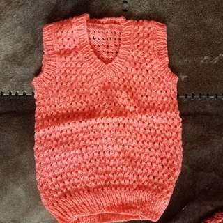 手織女童衫 (全新)